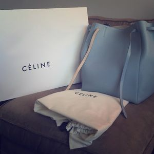 celine micro luggage tote price - 10% off Celine Handbags - Authentic Celine Medium Cabas Phantom ...