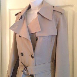 a38b407a2fa Rainwear Jackets   Coats - Classic long beige trench coat rainwear jcpenney