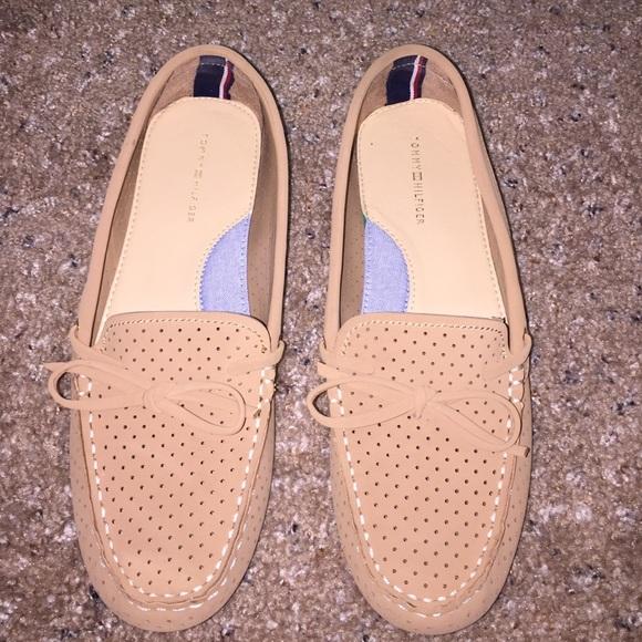 Tommy Hilfiger Shoes   Cute Ballets Sperry Type   Poshmark 49e25397e5e3