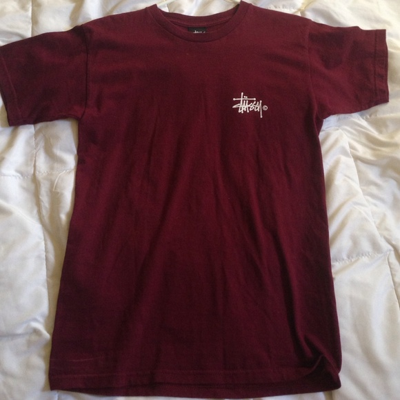 Stussy burgundy shirt. M 5574da0e51e9ea14aa0074d7 a4af88bbf