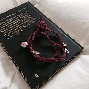 Suede Wrap Around Bracelet