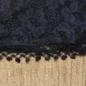 CDC Dresses - REDUCED*Black lace dress