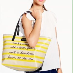 NWT Kate Spade Break a Resolution Tote
