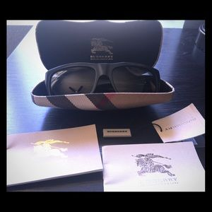 Burberry Accessories - Burberry sunglasses (BE4053 gray)