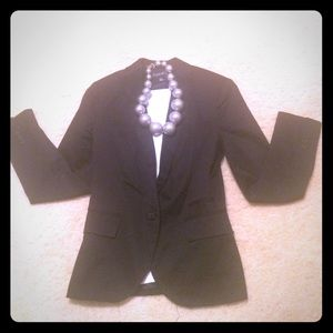 Size S black long-sleeve blazer