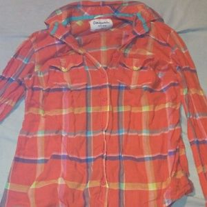 Plaid long sleeve aeropostale shirt