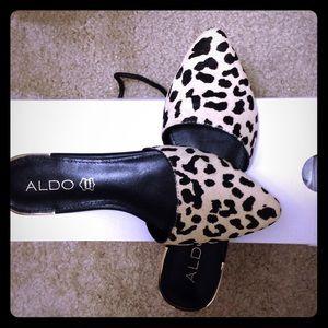 Aldo Luma flats in leopard