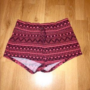 H&M tribal shorts