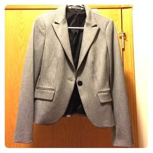 Express dress blazer in gray size 2.