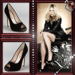 Caparros Shoes - Caparros Chante Velvet Platform Pump