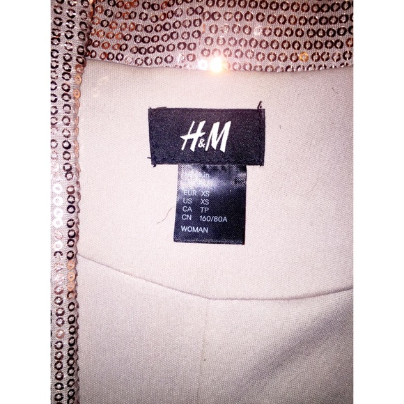 H&M Jackets & Coats - H&M Sequin blazer