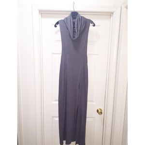 Dresses - Mock turtle neck maxi dress