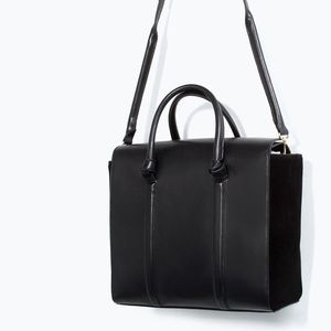 Zara Handbags - Zara Shopper Bag With Knots