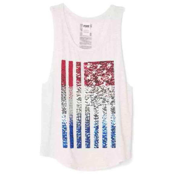 8bb159e5d8df9 LAST CHANCE!!! Patriotic Bling Tank NWT
