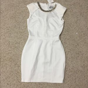 NWT saboskirt white cut out dress