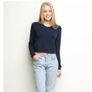 Brandy Melville Navy sweater