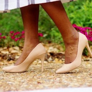 Express Shoes - Express Nude Pumps