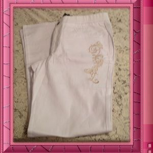 Antthony Pants - Antthony. White jeans. Reduced Firm