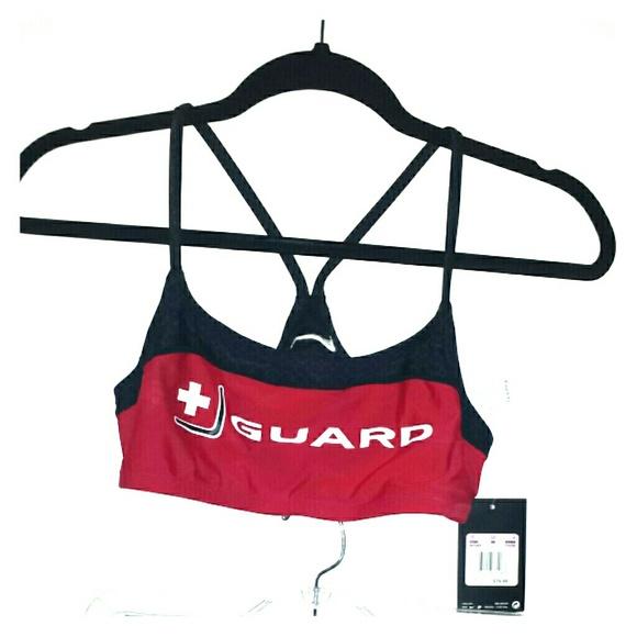 a3ec8ef91f60 Nike 2 piece lifeguard swimsuit
