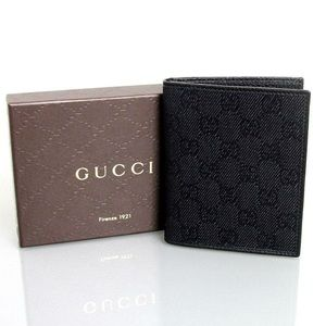 Gucci Canvas Card Case