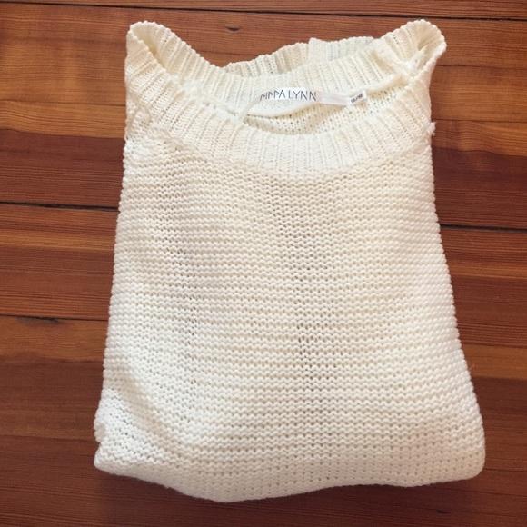LF Sweaters - LF (Pippa Lynn) sleeve cutout sweater a232b6f91