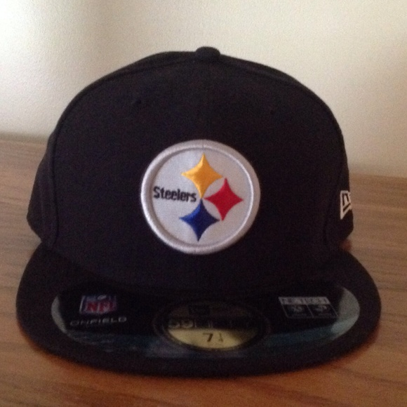 6327cc85325537 NFL Accessories | Pittsburgh Steelers Fitted Hat Size 7 14 Nwt ...