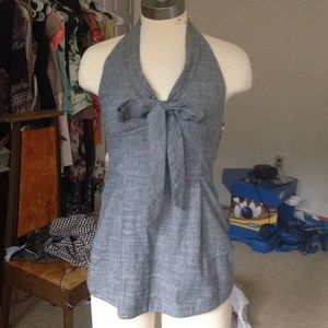 Anthropologie chambray top