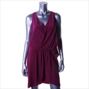 Elizabeth and James Dresses & Skirts - NWT🎀ELIZABETH & JAMES Silk Surplice Flyaway Dress