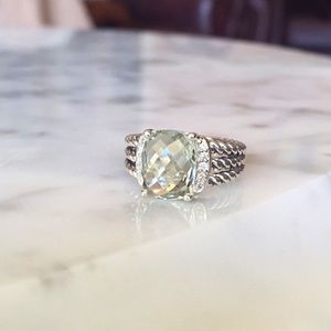 Authentic David Yurman Petite Wheaton ring