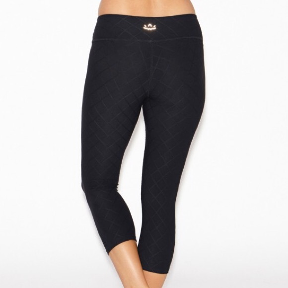 Beyond Yoga Quilted Capri's