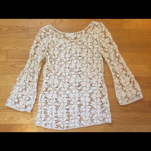 La Hearts Dresses Crochet Lace Cover Up Poshmark