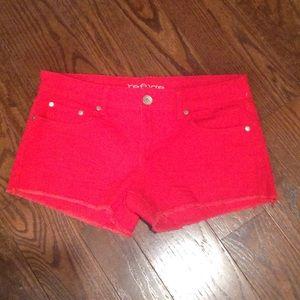 refuge Pants - Red Refuge Shorts