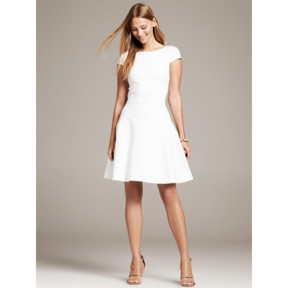 banana republic dresses white summer petite dress poshmark