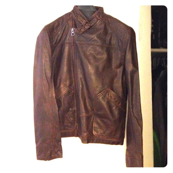 Timberland Mens Leather Brown Coats Jacket amp; Poshmark Jackets AqrwA8z