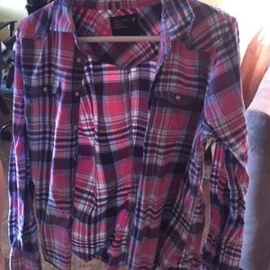 American Eagle Flannel (Boyfriend Shirt)