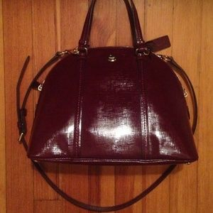 COACH PEYTON CORA DOMED LEATHER PURSE NWOT