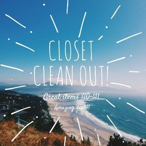 Other - 🎉🎉🎉CLOSET CLEANOUT🎉🎉🎉