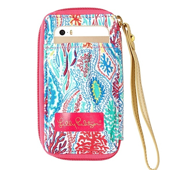Exceptionnel ISO IPhone 5s 6 Lilly Pulitzer Wristlet