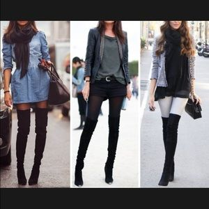 Aldo over the knee boots.