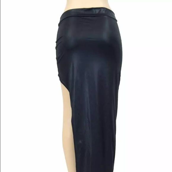66 Off No Brand Dresses Amp Skirts Faux Leather Skirt