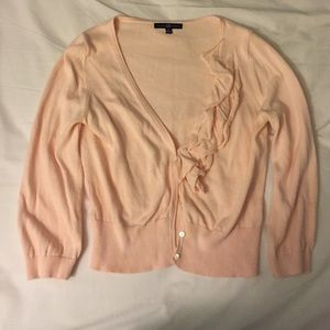 GAP pink cardigan 3/4 sleeve