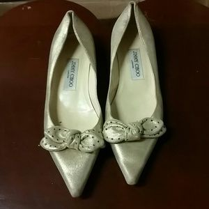 Jimmy Choo size 37 pointed toe flats