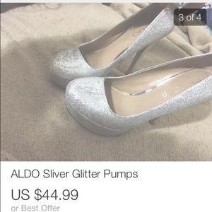 ALDO GLITTER PUMPS