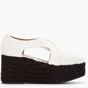 Jeffrey Campbell Shoes - Jeffrey Campbell Clinton Oxford wedge flatform