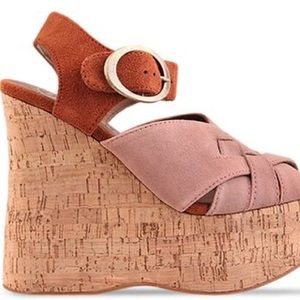 Jeffrey Campbell Shoes - Jeffrey Campbell Darcy platform wedges