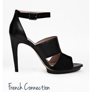 French Connection Shoes - Brand new French Connection Walda  platform heels