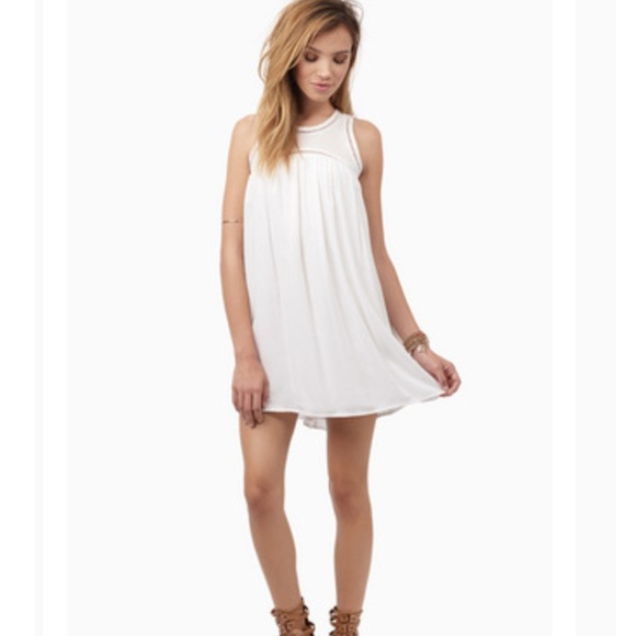 22% off Tobi Dresses & Skirts - Tobi White Sweet as Babydoll Dress ...