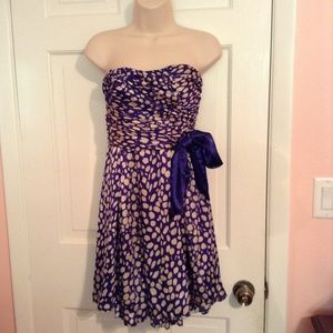 Blue and white formal/semi formal dress !
