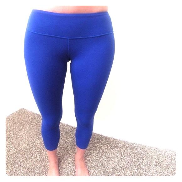 73% off Splits59 Pants - Splits59 Nova Capri Leggings in Royal ...