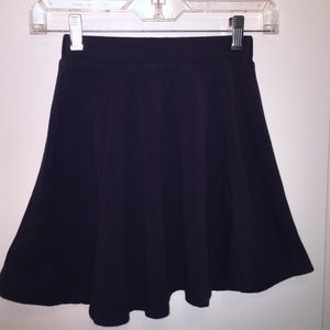 Charlotte Russe navy skirt. Size XS